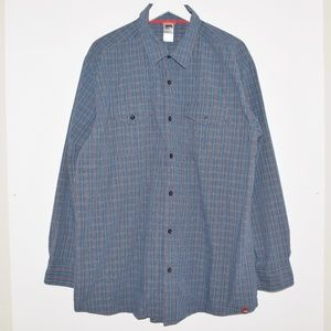 The North Face Shirts - The North Face Men's Plaid Cotton Button Up Shirt